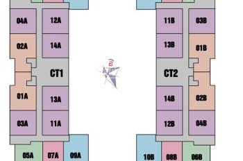 Cần tiền bán gấp căn 1514, DT 55m2, chung cư 987 Tam Trinh, giá 1.230 tỷ(có TL). LH 0963777502