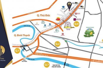 Căn hộ The East Gate làng đại học Quốc Gia, đối diện BX Miền Đông mới, KDL Suối Tiên. LH 0963261212