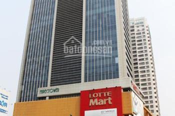 Cho thuê sàn thương mại tòa Mipec Tây Sơn, giá rẻ 230k/m2/th, có điện điều hòa, diện tích đa dạng