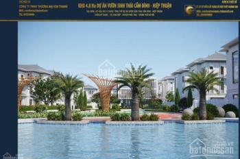 Bán đất phân lô khu sinh thái Cẩm Đình, Hiệp Thuận - giá tốt dành cho khách đầu tư, 038.37.99.111