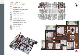 Cần bán lại căn hộ 3202 tòa Gold Tower - 275 Nguyễn Trãi