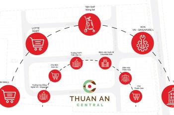 Sở hữu đất nền sổ đỏ Thuận An Central chỉ với 666 triệu. Chiết khấu 6%