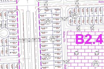 Lô đất biệt thự khu đô thị Thanh Hà B2.4 BT5 ô 7 mặt sau shophouse