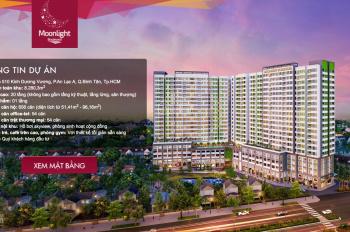 Bán căn hộ Moonlight Boulevard - Bình Tân, căn 1PN 53m2 giá 1.95 tỷ, 2PN 66m2 giá 2.2 ỷ