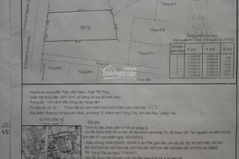 Cần bán đất trống mặt tiền đường Võ Nguyên Giáp, hướng Tây Nam, P. 12, TP. Vũng Tàu