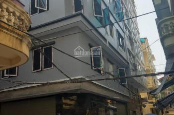 Cho thuê nhà Dt 60m2 x 5 tầng ngõ 201 phố Trần Quốc Hoàn, có đủ điều hòa, sàn gỗ, ngõ rộng để ô tô