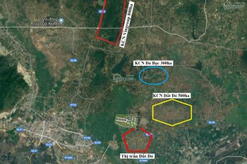 Sở hữu ngay đất tại KDC Đất Đỏ chỉ với 550 triệu - Vị trí mặt tiền DT52 Võ Thị Sáu - sang tên ngay