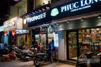 Cho thuê nhà mặt phố Huỳnh Thúc Kháng vị trí đẹp, vỉa hè rộng, 80m2 tiện làm salon tóc, sữa chua