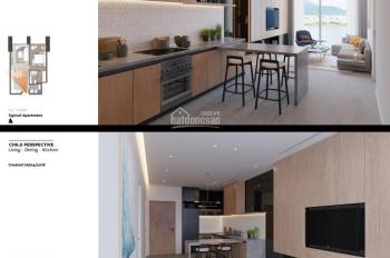 Bán căn hộ 5* Risemount Apartment vị trí vip (căn góc), 1PN, tầng 4. LH: 0938178383