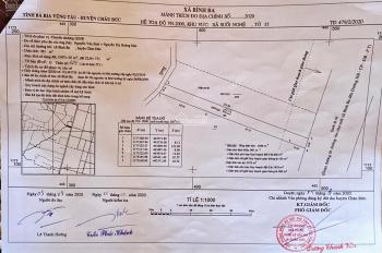 8x120m 961m2 đất mặt tiền Quốc Lộ 56, đối diện VinCom Châu Đức