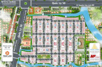 Làm sao để sở hữu một nền đất ven TPHCM, mặt tiền QUỐC LỘ 50 ngay TT thị trấn, chỉ với 639 triệu