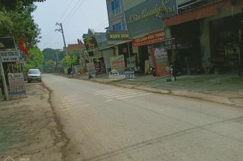 Bán lô đất tại tân xã Thạch Thất ngay vành đai công nghệ cao Hòa Lạc diện tích 125m2 full thổ cư
