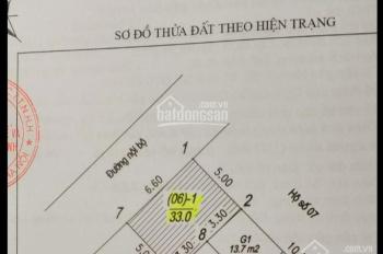 Bán 33m2 đất Đức Giang, ngõ rộng 4m ô tô vào nhà Đức Giang, Long Biên, Hà Nội