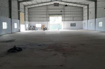 Cho thuê nhà xưởng 3600m2 giá 130tr/th đang làm mộc nội thất tại 179/398 HL80B, Đông Thạnh Hóc Môn
