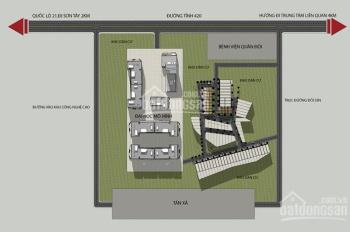 Bán đất phân lô cách CNC Hòa Lạc 1km, cách dự án sắp quy hoạch của Vingroup 4km, LH: 0946662328