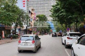 Chính chủ cần bán gấp nhà 6 tầng mặt phố Dịch Vọng, diện tích 110m2, giá 27,5 tỷ. Có thang máy
