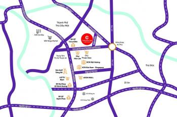 Chỉ từ 730 triệu sở hữu ngay đất nền trung tâm Thành phố Thuận An Central