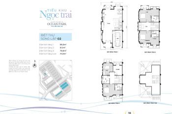 Gia đình cần bán căn Shophouse mặt đường 52m - Ngọc Trai 6, Vinhomes Ocean Park Gia Lâm