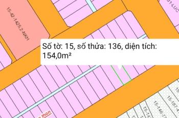 Bán gấp lô đất thuộc khu TĐC xã Phước Khánh, diện tích 154m2, thổ cư, SHR