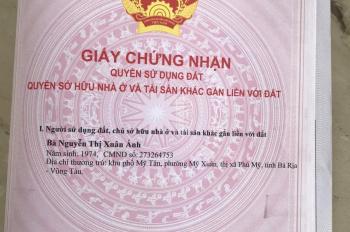 Chỉ 900tr sở hữu ngay lô đất 144m2 KDC Tân Phước, khu đô thị Phú Mỹ, BRVT - Sổ hồng riêng