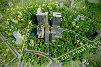 Nhà phố căn hộ Shophouse trung tâm thành phố Thuận An, chỉ 18 - 20Tr/m2. LH: 0932.191.870