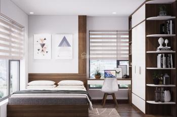 Cho thuê căn hộ tầng 18, CT3 Thái Hà 43 Phạm Văn Đồng 70m2, 2PN đồ cơ bản giá 7.5tr/th. 0836291018
