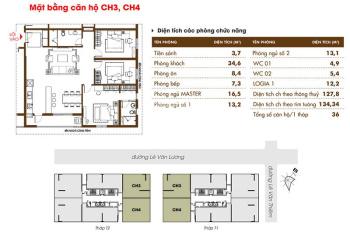 """Bán căn """"hot"""" 107m2, căn 06 tháp T1, full nội thất DA Times Tower 35 Lê Văn Lương. LH: 0979618459"""