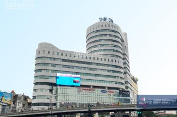 Cho thuê văn phòng hạng B tòa nhà Việt Tower 100m2,150m2, 190m2 số 1 Thái Hà. LH 0912961483
