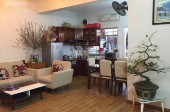 Cần bán gấp căn hộ 3 phòng ngủ 80m2 tại Nơ 1 bán đảo Linh Đàm. Nội thất cơ bản, giá 1 tỷ 600 triệu