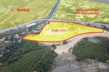 Nhượng lại suất đối ngoại Ruby City Hạ Long giá rẻ nhất thị trường