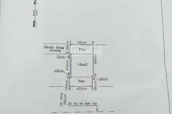 Bán nhà mặt phố Hồ Xuân Hương, Hồng Bàng, Hải Phòng
