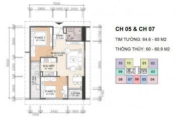 Bán nhanh căn hộ A10 Nam Trung Yên, giá tốt, DT 60m2, 2PN, giá tốt 29tr/m2, LH: 0983292695