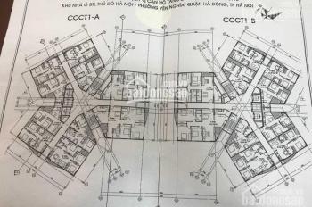 Chính chủ bán căn 1201 chung cư CT1 Yên Nghĩa, DT: 60,1m2, giá bán: 14.5 triệu/m2, LH: 0962251630
