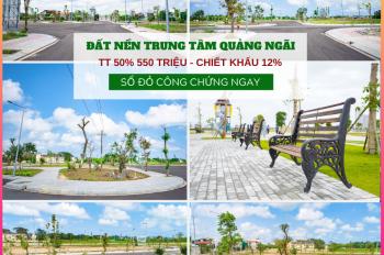 Tài chính 1 tỷ nhà đầu tư không nên bỏ qua cơ hội đầu tư đất vip trung tâm Quảng Ngãi, CK 12%
