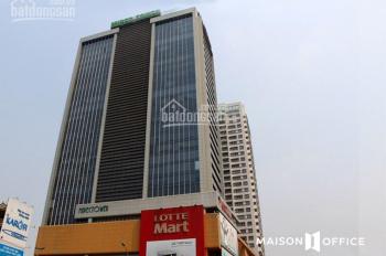 Cho thuê văn phòng hạng B tòa nhà Mipec Tower - 229 Tây Sơn, diện tích có 90 m2, 100m2, 120m2