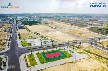 Bán đất biệt thự sát sông Cổ Cò, đối diện sân Golf BRG Đà Nẵng, MT đường 10m5, giá chỉ 23 tr/m2