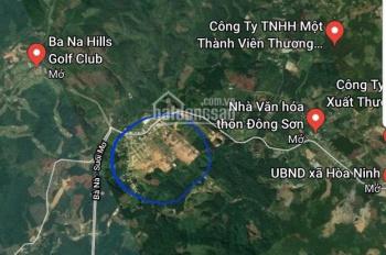 Bán gấp cực rẻ 1000m2 đất ở trên núi huyện Hòa Vang, Đà Nẵng gần Bà Nà làm biệt thự nhà vườn tuyệt