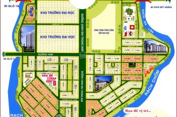 Chính chủ bán gấp đất KDC 13E Intresco, Phong Phú. DT: 100m2 - 18tr/m2, sổ đỏ, 0356374740