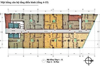 Chuyển nhượng căn hộ C. T Plaza Minh Châu mặt tiền Lê Văn Sỹ, trung tâm Quận 3