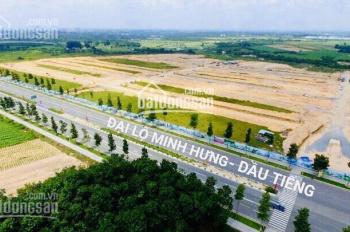 130m2/640tr - Mặt tiền đường N11 KCN Minh Hưng 3 - SHR thổ cư 100% - Xây dựng tự do. 0902756746