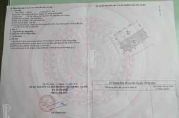 Bán đất thổ cư ngõ 734 đường Kim Giang đất vuông vắn cách đường Kim Giang 200m