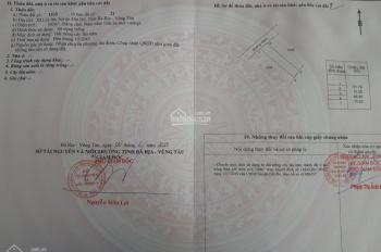 Đất nền Bà Rịa vũng Tàu thuộc Lộc An - Hồ Tràm 1 tỷ/nền, ĐT: 0984464447