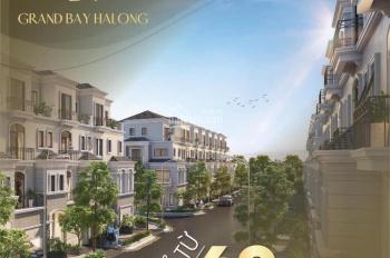 Bán shophouse Grand Bay Hạ Long - hàng chủ đầu tư, hỗ trợ vay ngân hàng 70%, LH: 0931774286