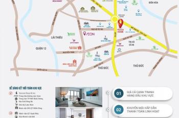 Tecco Home An Phú chỉ từ 1 tỷ/căn 2PN, vay NH 70%, booking sớm chọn căn đẹp nhiều ưu đãi CK cao