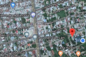 Đất thổ cư thị trấn Cam Đức cần bán gấp giá rẻ nhất Cam Đức được giá chốt nhanh 0989572238