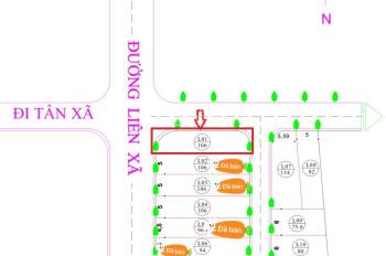 Chính chủ bán đất khu CNC Hòa Lạc, giá 924tr full thổ cư, lh: 0961584546