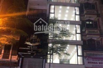 Cho thuê nhà cực đẹp vip MP Xã Đàn, Đống Đa DT 130m2 x 3,5 tầng MT 8m giá 200tr/th có TL 0928872222
