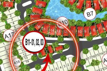 Bán lô 3 lô, 3 mặt tiền, liền kề khu đô thị sentosa Riverside Quảng Nam, giá bán 13 tr/m2