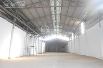 Cho thuê kho xưởng 1100m2 đường Quốc Lộ 1A, P. Bình Hưng Hòa, Q. Bình Tân