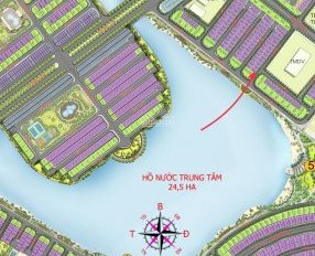 Bán gấp lô góc Sao Biển 10 - 33, hướng TN, DT 265m2, view mặt hồ 24.5ha, giá 21tỷ, LH: 094.941.5555